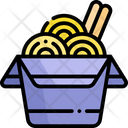 Noodle Box Ramen Chinese Food Icon