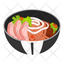 Noodle Soup With Sliced Pork Icon