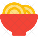 Noodles Food Bowl Icon