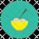 Asian Noodles Bowl Icon