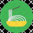 Noodles Vermicelli Chopsticks Icon