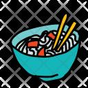 Noodles Bowl Food Icon
