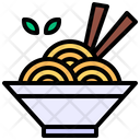 Noodles Chinese Food Sticks Icon