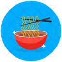 Noodles Spaghetti Chinese Food Icon
