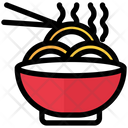 Noodles Bowl Ramen Icon