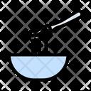 Noodles Bowl Fork Icon