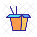 Takeout Chinese Box Icon