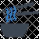 Bowl Noodles Soup Icon
