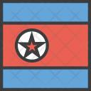North Korean Korea Icon