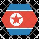 North Korea Korean Icon