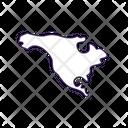 North America Covid Variant Icon