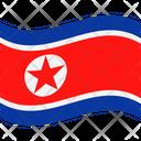 Flag Country North Korea Icon