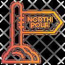 North Pole North Pole Board North Pole Way Icon