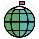 North Top Pole Icon