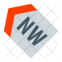 North West Direction Icon