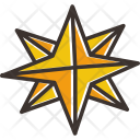 Northern Pole Star Icon