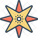 Northern Compass Septentrional Icon