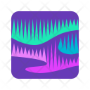 Northern Lights Icon