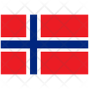 Flag Country Norway Icon