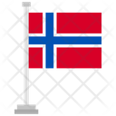 Norway Country National Icon
