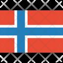 Norway Flag World Icon
