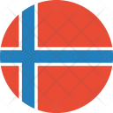 Norway Flag World Icon