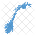 Norway Map Icon