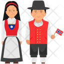 Norway Outfit Norway Clothing Norway Dress Icon