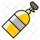 Nos Bottle Breathing Icon