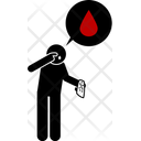 Nose Bleed Bleeding Blood Icon