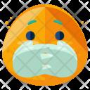 Not Telling Emoji Icon