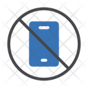 Not Allowed Mobile Icon