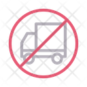 Not allowed truck Icon
