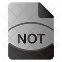 Not File Icon