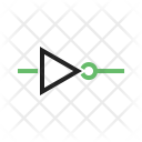 Not Gate Circuit Icon