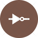 Not Gate Circuit Icon