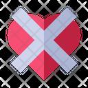 Not Love Love Valentine Icon