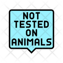 Not Tested On Animals Tested Animals Icon