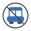 Stop Notallowed Bus Icon