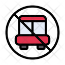 Notallowed Bus Icon