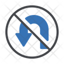 Notallowed Uturn Restricted Icon