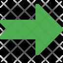 Notched Arrow Icon