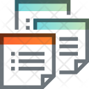Note Paper Plan Icon