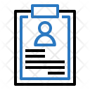 Note Pad Account Icon