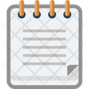 Note Notepad Page Icon