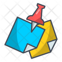 Note Paper Report Icon