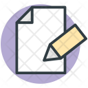 Note Document Sheet Icon