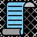 Paper Stationery Catalog Icon