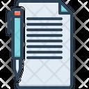 Note File Graphic Icon