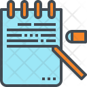 Note Writing Memo Icon